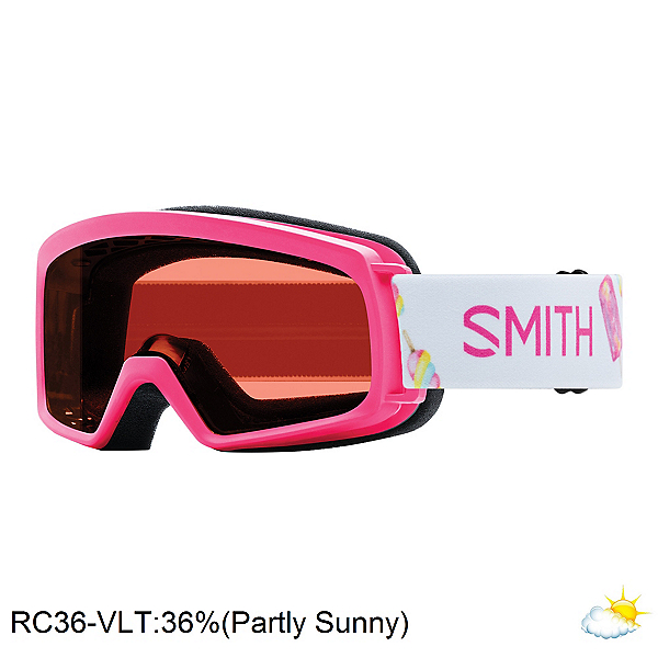 Smith Rascal Girls Goggles 2018, Pink Popsicles-Rc36, 600