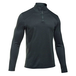 Under Armour Reactor 1/4 Zip Mens Mid Layer, Anthracite-Steel, 256