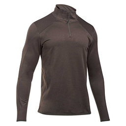 Under Armour Reactor 1/4 Zip Mens Mid Layer, Maverick Brown-Bayou, 256