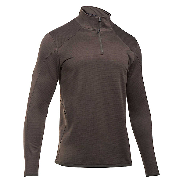 Under Armour Reactor 1/4 Zip Mens Mid Layer, Maverick Brown-Bayou, 600
