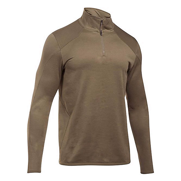 Under Armour Reactor 1/4 Zip Mens Mid Layer, Cannon-Bayou, 600
