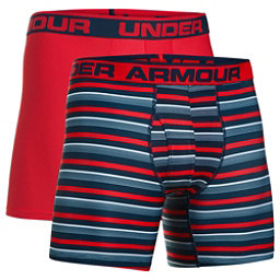 Under Armour Original 6in Novelty 2 Pack, Academy-Red, 256