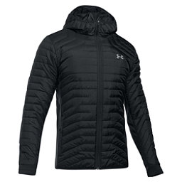 Under Armour ColdGear Reactor Hybrid Mens Jacket, Black-Black, 256