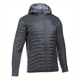 Under Armour ColdGear Reactor Hybrid Mens Jacket, Rhino Gray-Steel, 256