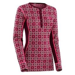 Kari Traa Rose Long Sleeve Womens Long Underwear Top, Blush, 256