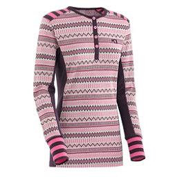 Kari Traa Akle Long Sleeve Womens Long Underwear Top, Mauve, 256