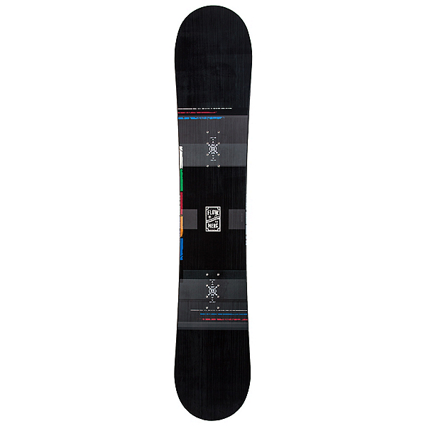 Flow Merc Snowboard, Black, 600