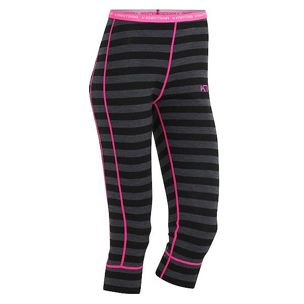 Kari Traa Ulla Capri Womens Long Underwear Pants, Ebony, 600