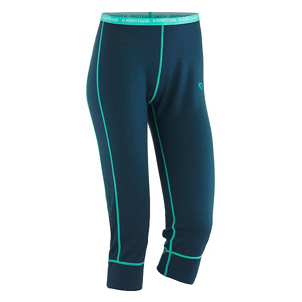 Kari Traa Ulla Capri Womens Long Underwear Pants, Navy, 600