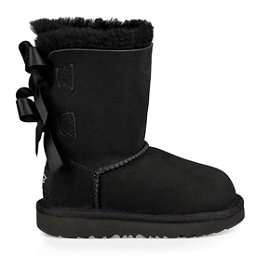 UGG Bailey Bow II Girls Boots, Black, 256