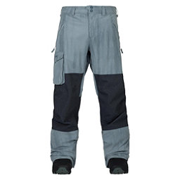 Burton Covert Mens Snowboard Pants, La Sky Distress-Denim, 256