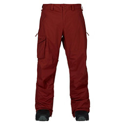 Burton Covert Mens Snowboard Pants, Fired Brick, 256