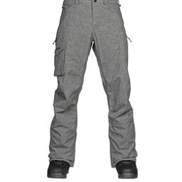 Burton Covert Mens Snowboard Pants, Bog Heather, 256