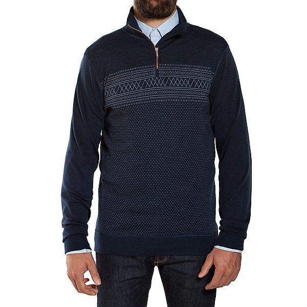 We Norwegians Setesdal 1/2 Zip Mens Sweater, , 600