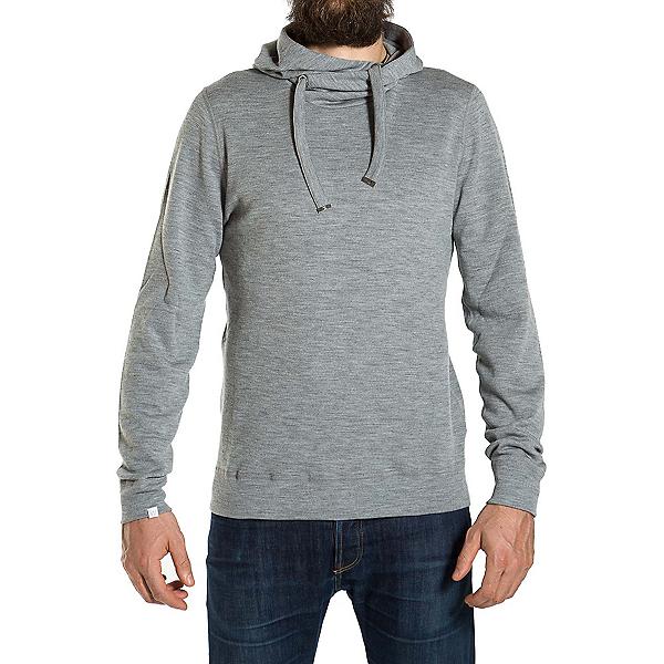 We Norwegians Base Two Hoodie Mens Sweater, Grey Melange, 600