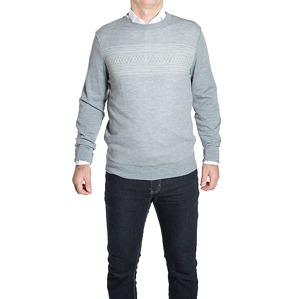 We Norwegians Setesdal Crewneck Mens Sweater, , 600