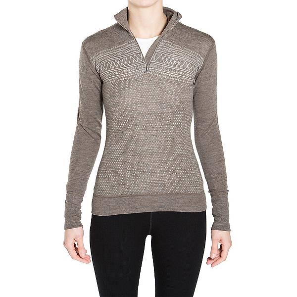 We Norwegians Setesdal 1/2 Zip Womens Sweater, Marmotta, 600