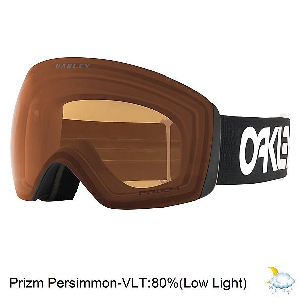 Oakley Flight Deck XL Prizm Goggles, Factory Pilot-Prizm Persimmon, 600