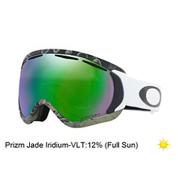 Oakley Canopy Prizm Tanner Hall Signature Series Goggles 2018, Turntable Green-Prizm Jade Iridium, 256