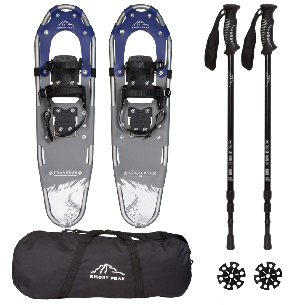Emory Peak Traverse 930 with Poles Snowshoes 2020 im test