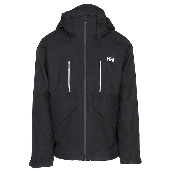 Helly Hansen Juniper II Mens Insulated Ski Jacket, Black, 600