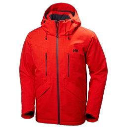 Helly Hansen Juniper II Mens Insulated Ski Jacket, Alert Red, 256