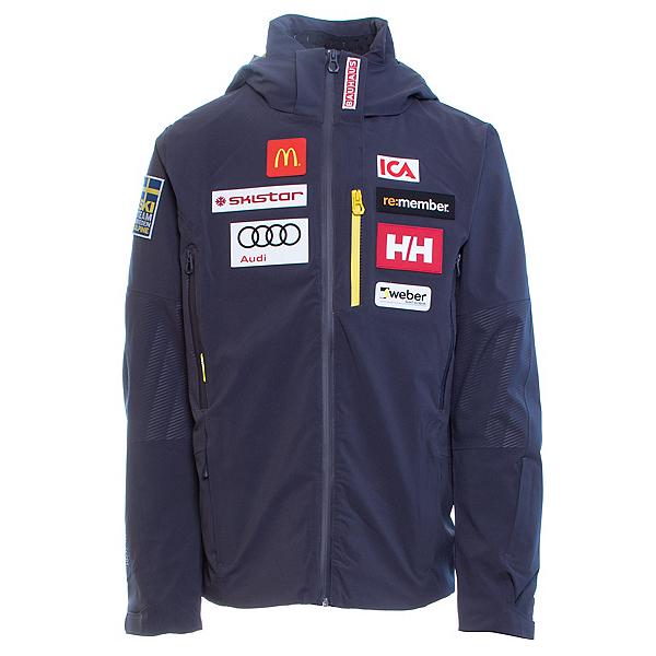 Helly Hansen Stoneham Mens Insulated Ski Jacket, Graphite Blue, 600