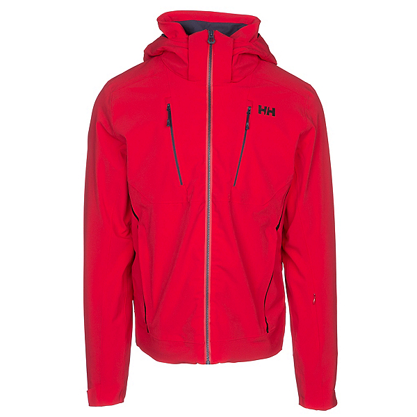 Helly Hansen Alpha 3.0 Mens Insulated Ski Jacket, Flag Red, 600