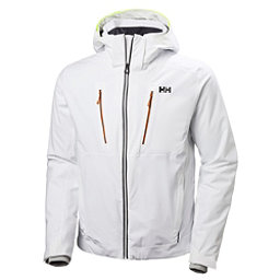 Helly Hansen Alpha 3.0 Mens Insulated Ski Jacket, White, 256