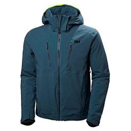 Helly Hansen Alpha 3.0 Mens Insulated Ski Jacket, Midnight Green, 256