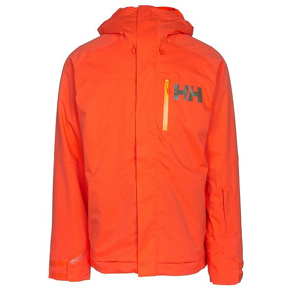 Helly Hansen Vestland Mens Insulated Ski Jacket, Flame, 600