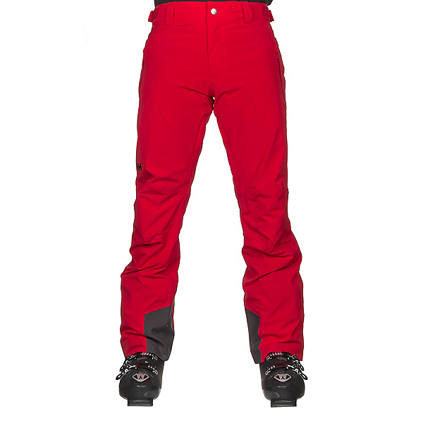 Helly Hansen Legendary Mens Ski Pants, Alert Red, 600