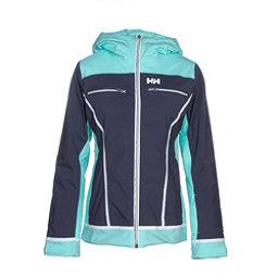 Helly Hansen Belle Womens Insulated Ski Jacket, Graphite Blue, 256