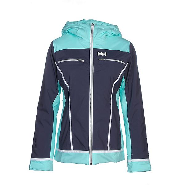 Helly Hansen Belle Womens Insulated Ski Jacket, Graphite Blue, 600