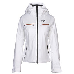 Helly Hansen Alphelia Womens Insulated Ski Jacket, White, 256