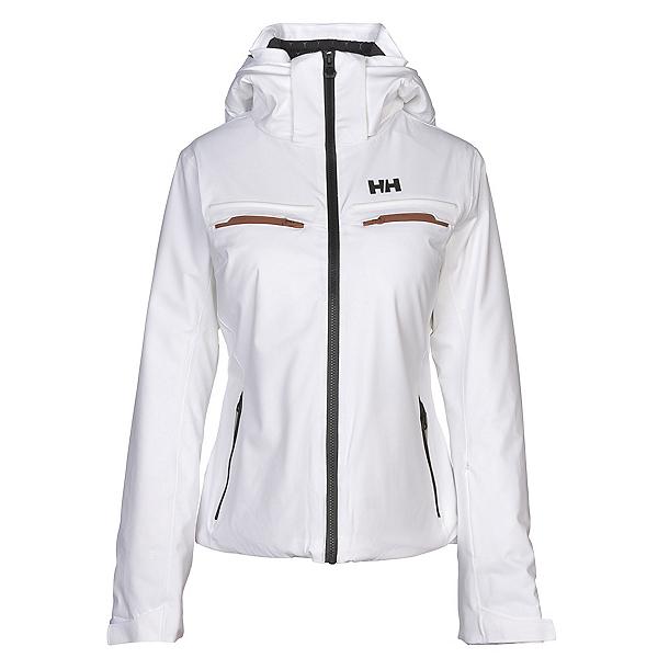 Helly Hansen Alphelia Womens Insulated Ski Jacket, White, 600