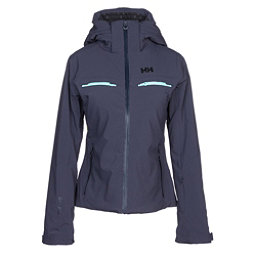 Helly Hansen Alphelia Womens Insulated Ski Jacket, Graphite Blue, 256
