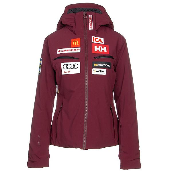 Helly Hansen Alphelia Womens Insulated Ski Jacket, Port, 600