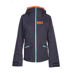 Helly Hansen Glory Womens Insulated Ski Jacket, Graphite Blue, 256