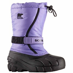 Sorel Flurry Girls Boots, Paisley Purple-Black, 256