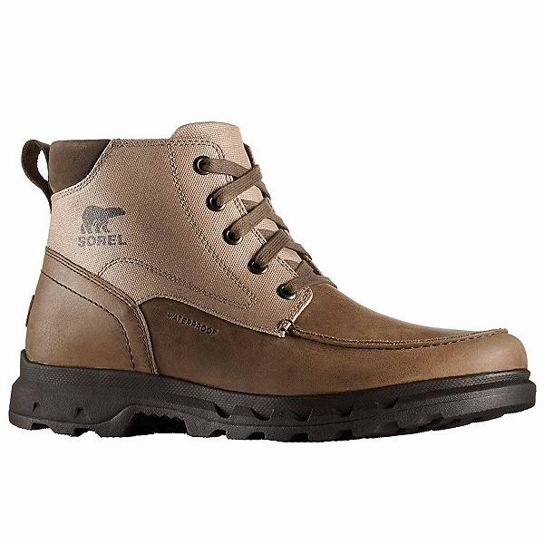 Sorel Portzman Moc Toe Mens Boots, Major-Concrete, 600