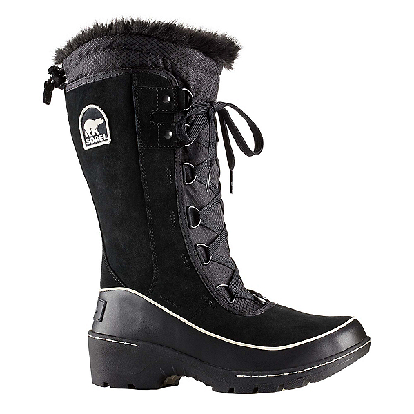 Sorel Tivoli lll High Womens Boots, Black-Light Bisque, 600