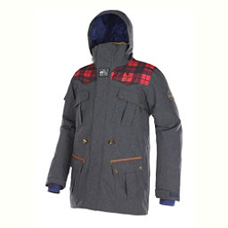 Picture Dann Mens Insulated Ski Jacket, Denim Blue, 256