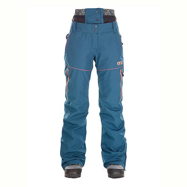 Picture Exa Womens Ski Pants, Petrol, 600