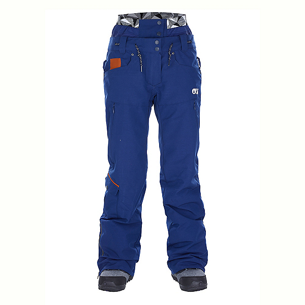 Picture Slany Womens Ski Pants, Dark Blue, 600