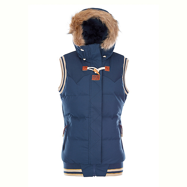 Picture Holly Womens Vest 2018, Dark Blue, 600