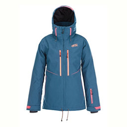 Picture Exa Womens Insulated Ski Jacket, Petrol Blue, 256