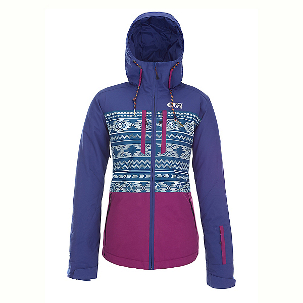 Picture Mineral Womens Insulated Ski Jacket, Dark Blue, 600