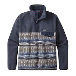 Patagonia Lightweight Synchilla Snap-T Mens Mid Layer, Laughing Waters Smolder Blue Smolder Blue, 256