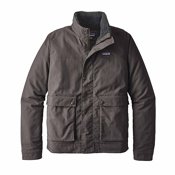Patagonia Maple Grove Canvas Mens Jacket, Forge Grey, 600